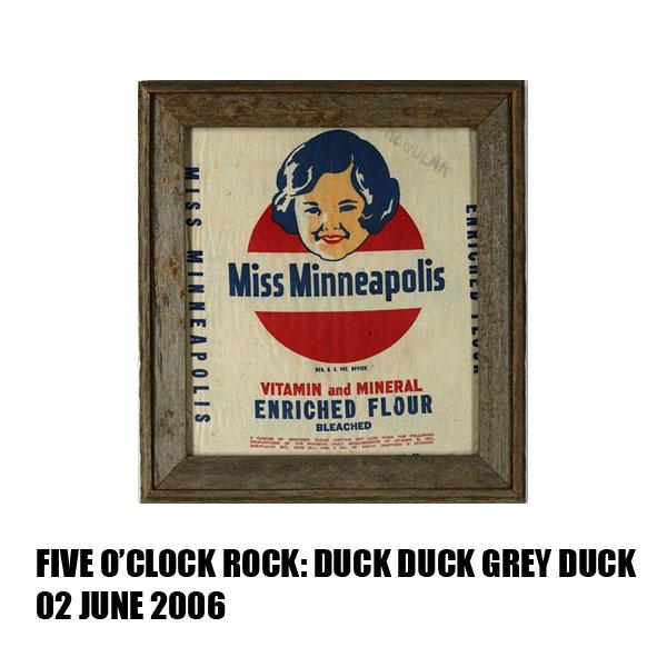 Duck Duck Grey Duck